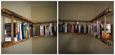Библиотека от стълба