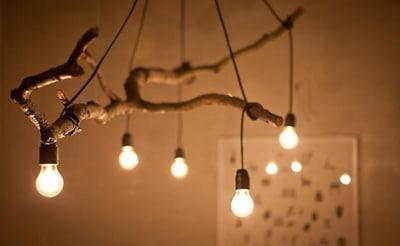 Лампа дърво