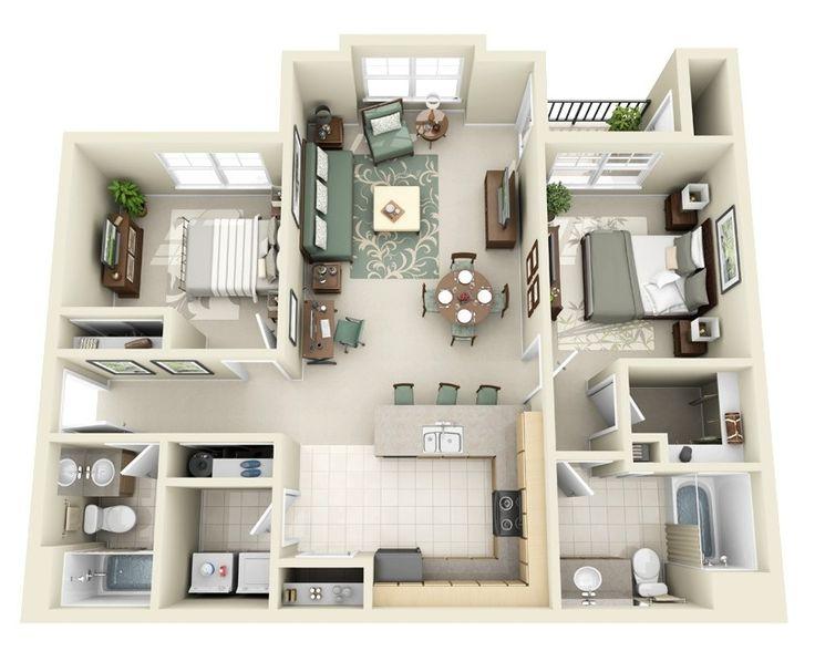 K for Apartment design 70m2